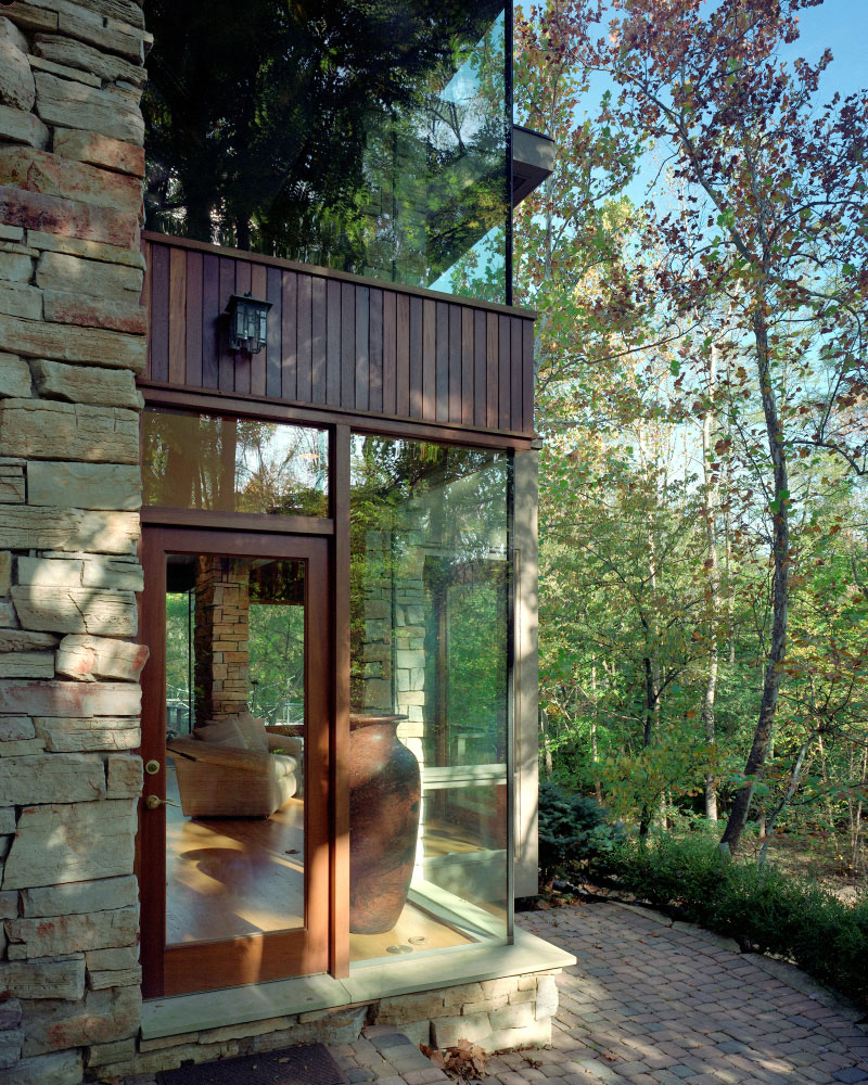 Stone Glass & Nature – New Construction, Private Residence 02