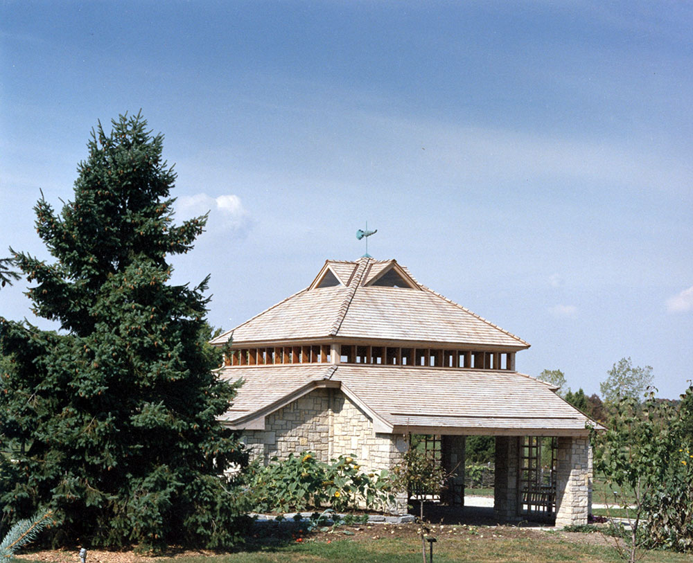 Edible Garden Pavilion Cox Arboretum 04