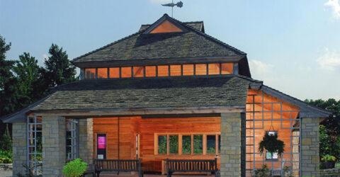 Edible Garden Pavilion Cox Arboretum