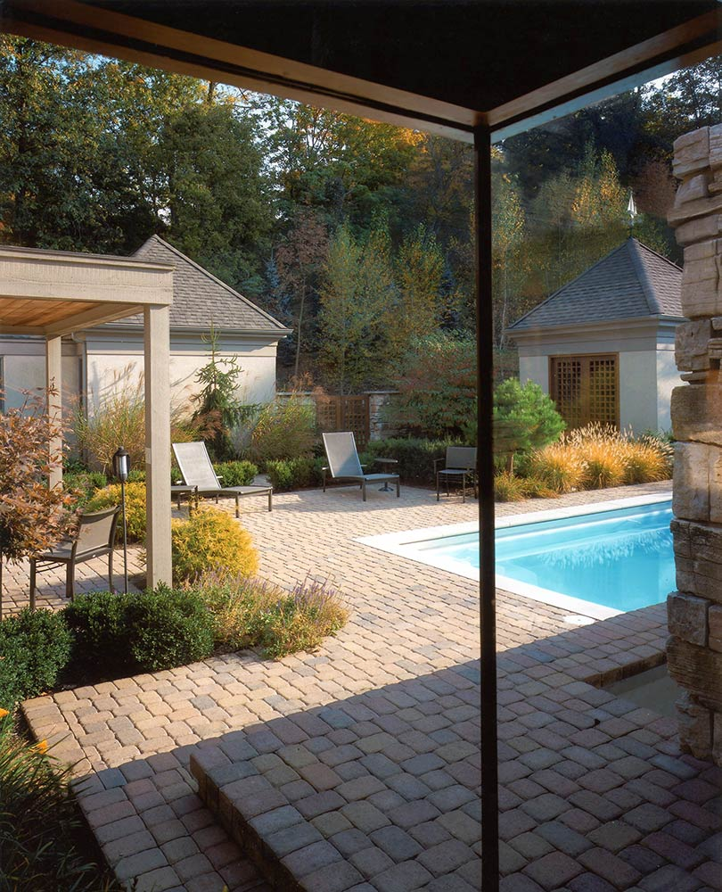 Stone Glass & Nature – New Construction, Private Residence 08