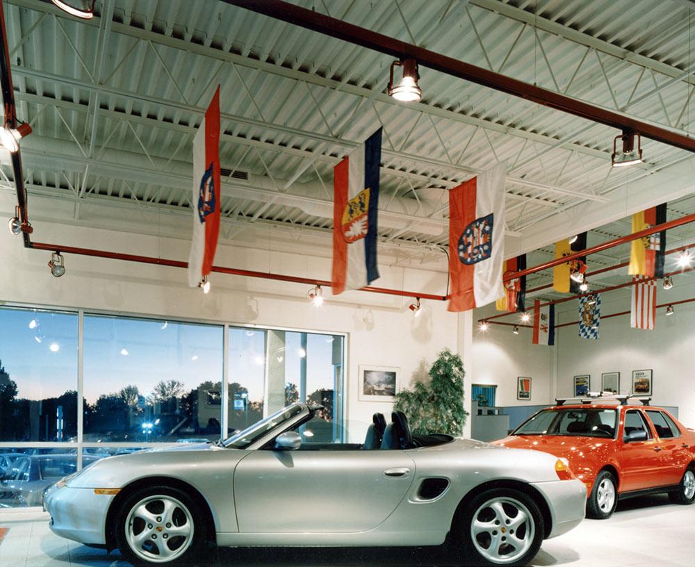White Allen Porsche Showroom – New Construction, Commercial 03